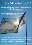 BICENTENARIO DE LA CREACIÓN Y PRIMERA JURA DE LA BANDERA ARGENTINA bandera argentina bicentenario