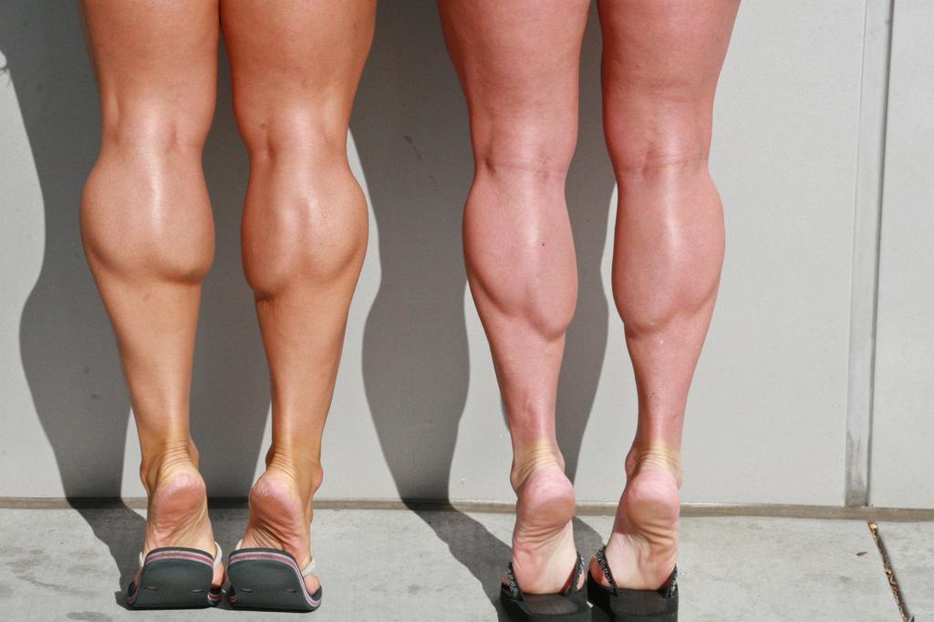 Как сделать большие ноги в домашних условиях 674
