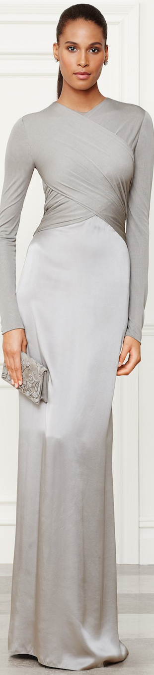 Ralph Lauren Fall 2014 Collection Fiona Evening Gown