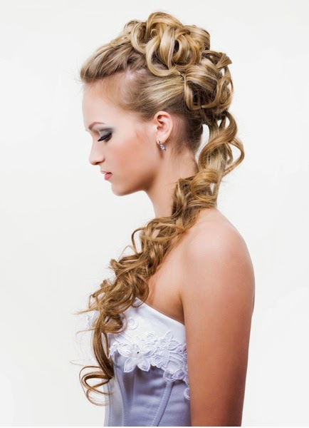 Peinados Modernos para Quinceañeras, parte 1