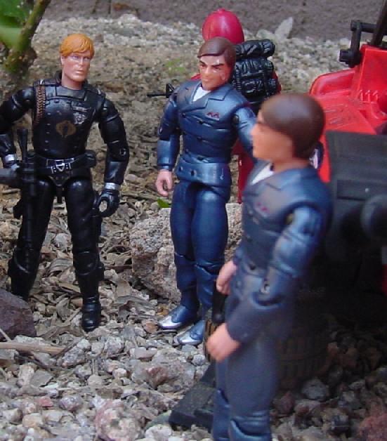 2005 Tomax and Xamot, Crimson Hiss, Crimson Sabotage, Crimson Guard, Crimson Shadow Guard, Fred