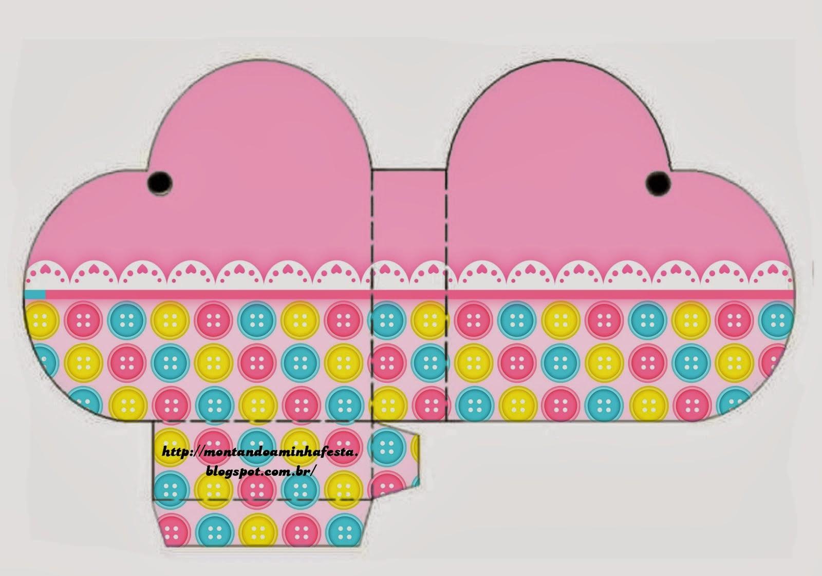Para hacer cajas abiertas en forma de corazón.