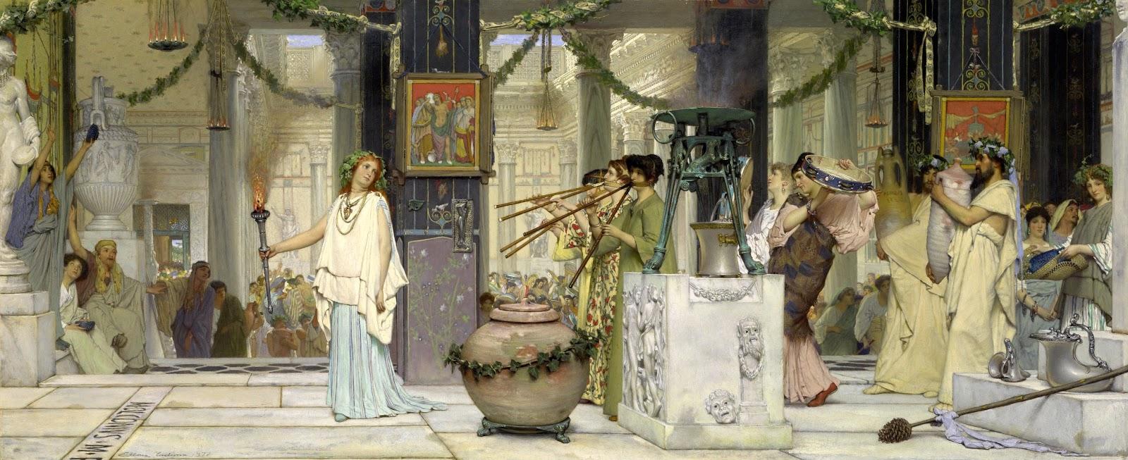 Lawrence Alma-Tadema - Page 2 2+Lawrence_Alma-Tadema_-_The_vintage_festival_-_