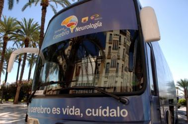 autobús semana del cerebro