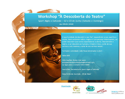 "Workshop ""À Descoberta do Teatro"""