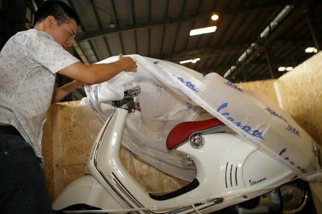 Vespa 946 đã đặt chân đến Việt Nam