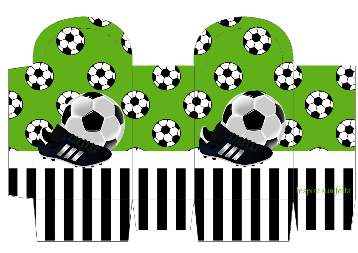 Soccer Set Free Printable Invitations And Boxes For