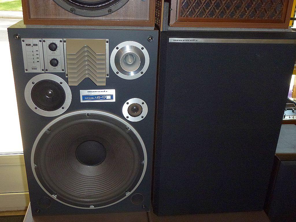 Golden Age Of Audio: Marantz LS-17A Speakers: SOLD