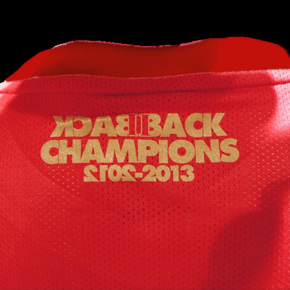 Back II Back European Champions 2012-2013