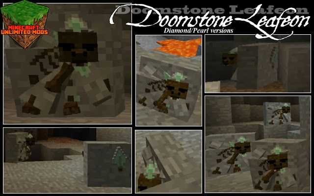 Pokemon: Disciples of Corruption Mod doomstone leafeon
