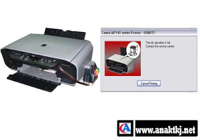 Cara Mudah Mereset Printer Canon MP 145 Error 27