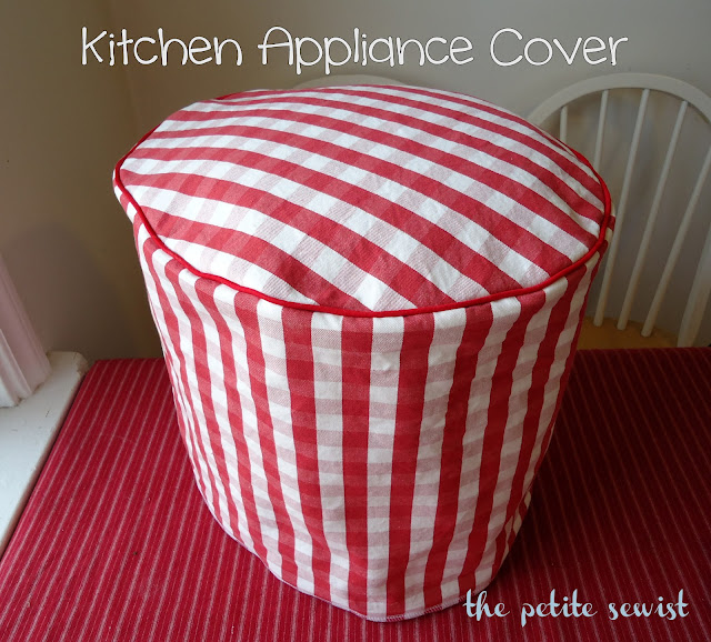 The Petite Sewist Kitchen Appliance Cover