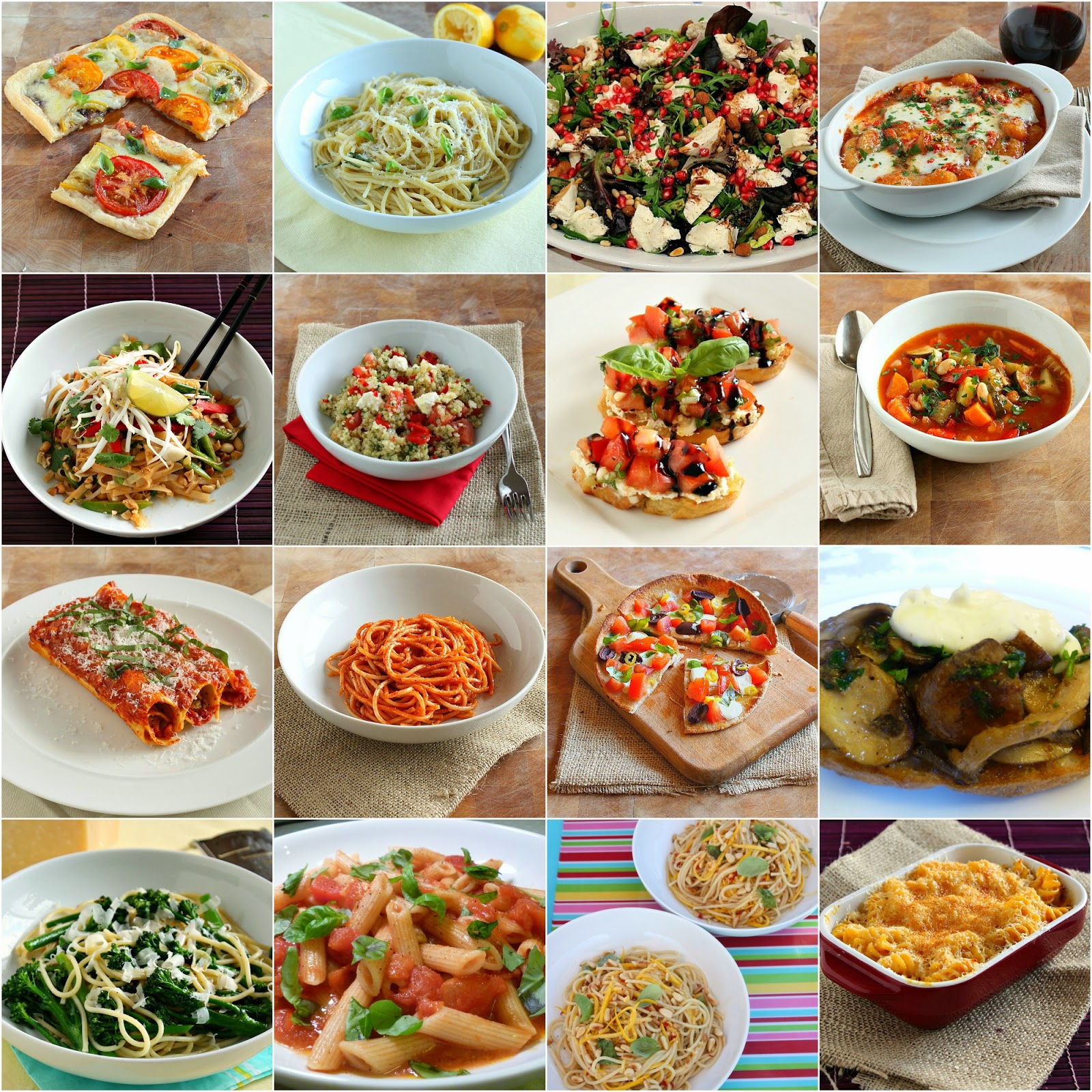 favourite vegetarian recipes for national vegetarian week
