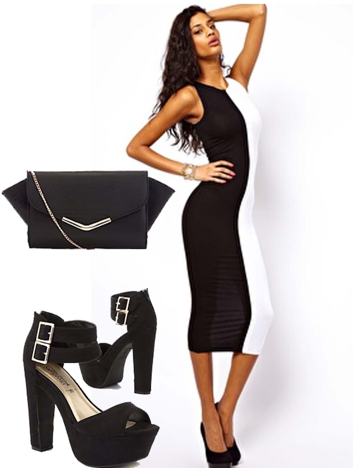 shoes to wear with midi dress playmates my