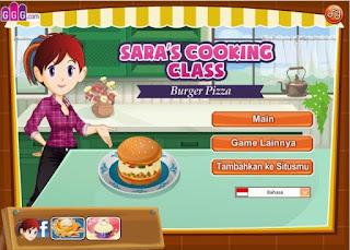Permainan Memasak Hamburger