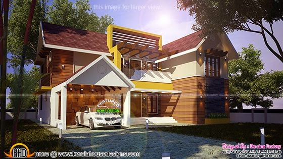 House 3d view