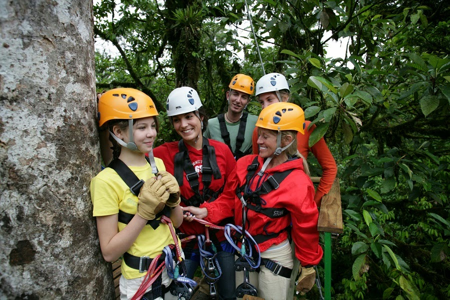 Safety in Canopy Zip Line Tours