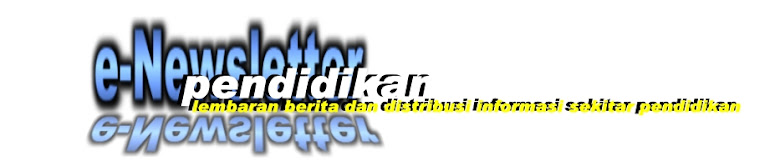 e-Newsletter Pendidikan