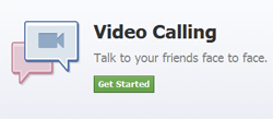 The Video Calling In Facebook, How to video calling to Facebook?Facebook Shows What Skype Chat Looks Like, logo, picture, image, poster