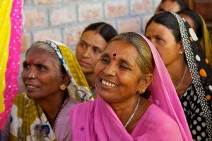 Meet India's Gulabi Gang - Female Activists for Change - Smiles and determination of rural Indian women