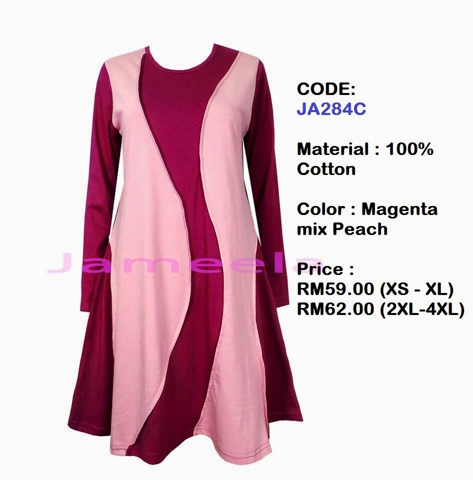T-shirt-Muslimah-Jameela-JA284C