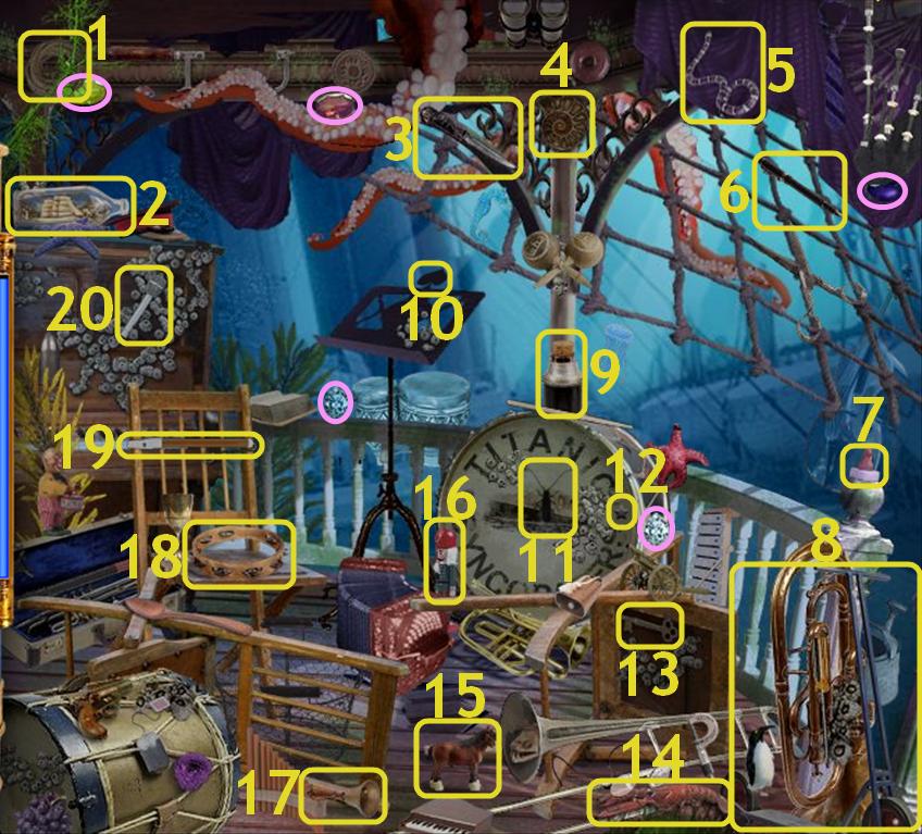Hidden Expedition: Titanic - Bandstand