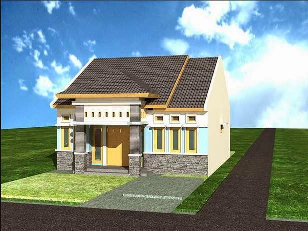 desain rumah mungil 2