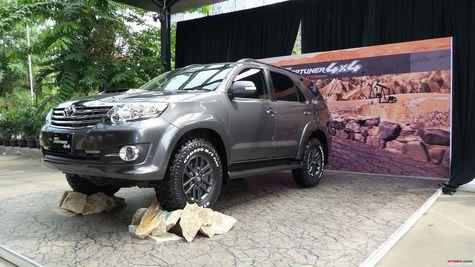 Toyota New Fortuner 4x4 Diesel A/T Dibanderol Rp 480 Juta