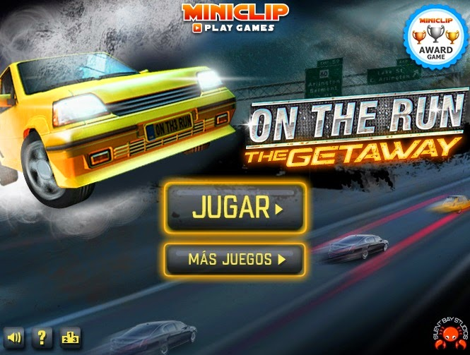 Juegos gratis de Carros - On The Run The Getaway