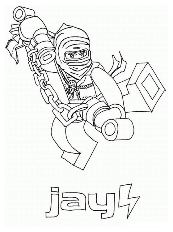 jay ninjago printable coloring pages - photo#19