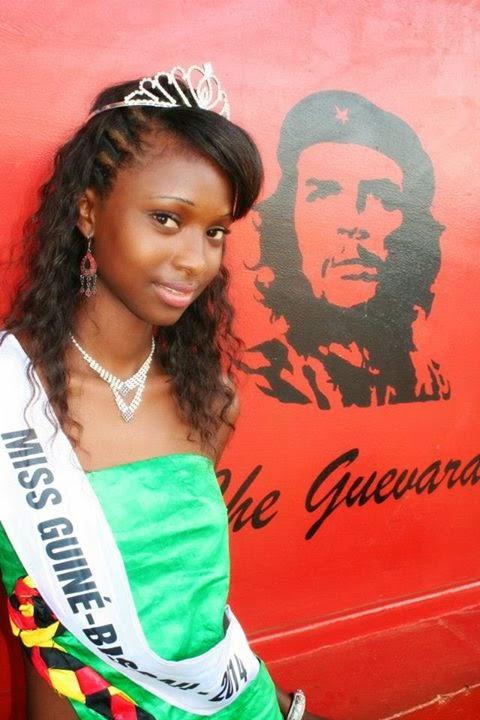 Miss Guine Guinea Bissau 2014 winner Laila da Costa