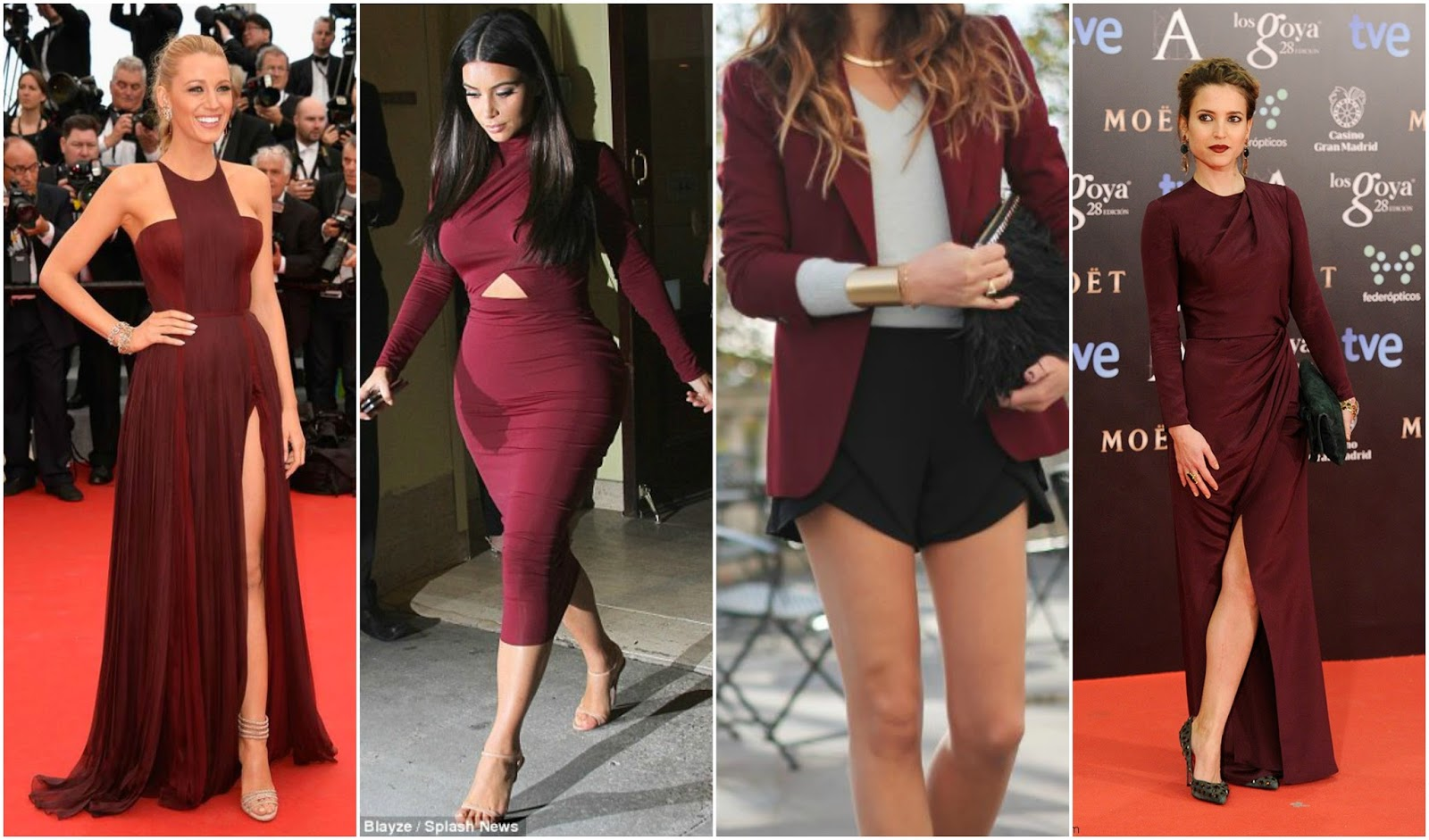 silk and spice how to wear burgundy a k a oxblood