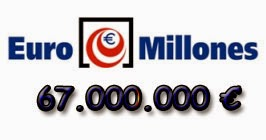 Euromillones del martes 15 de julio de 2014