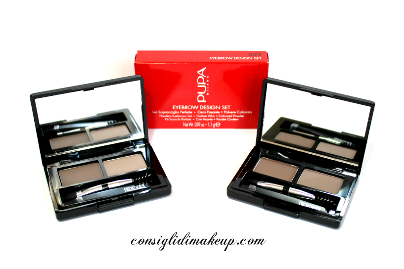 Review: Eyebrow Design Set & Eyebrow Pencil - Pupa Milano
