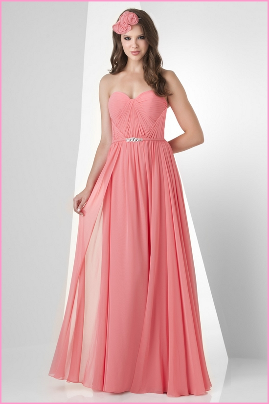 Girl For Look: Pink Bridesmaid Dresses: How to Choose the Right Color