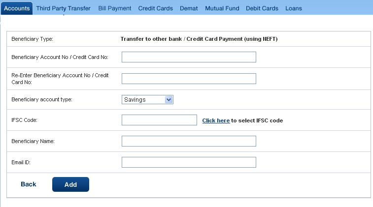 Transfer Money From HDFC Bank to Other Banks Online Hdfc Netbanking