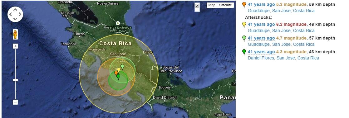costa rica earthquake - photo #29