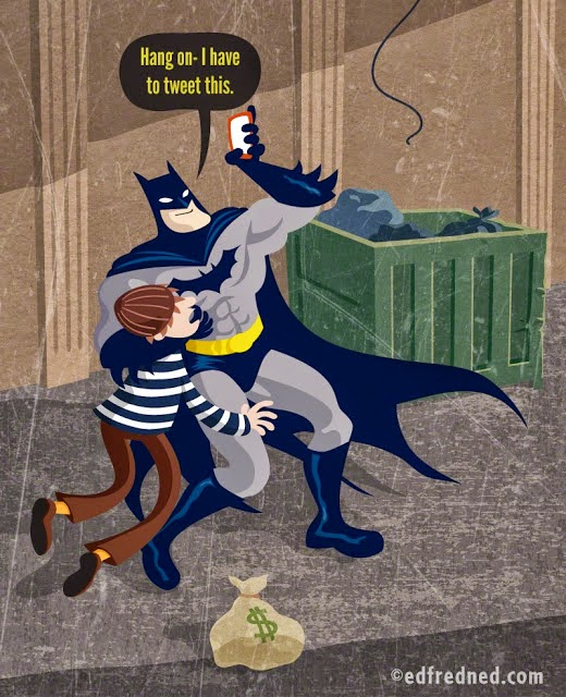 Batman Loves Social Media