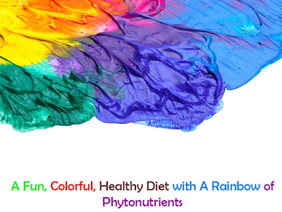 Healthy Diet with A Rainbow of Phytonutrients