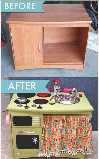 Blog decor diy c mo hacer una cocina de juguete - Hacer cocinita de juguete ...
