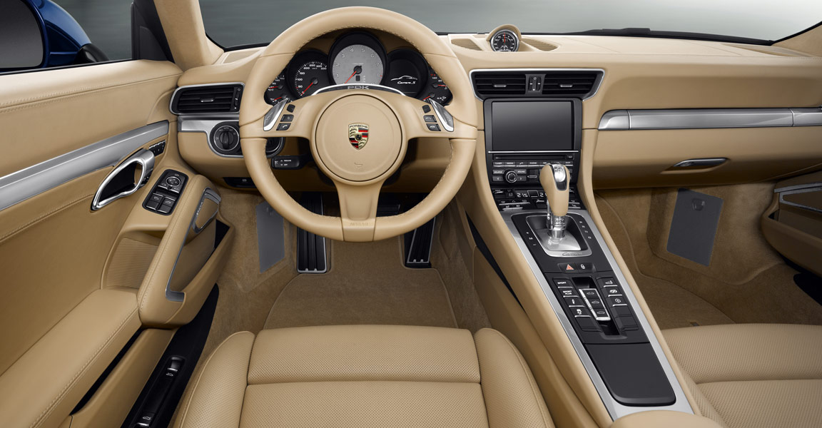 2013 porsche 911 car information news reviews videos for Porsche 911 interieur