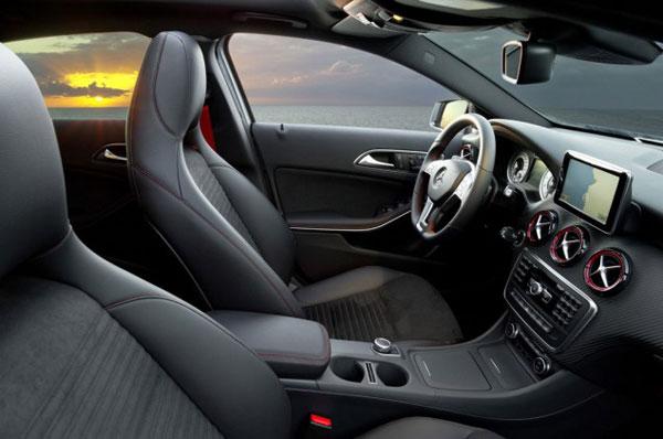 Mercedes Benz A25 AMG interior