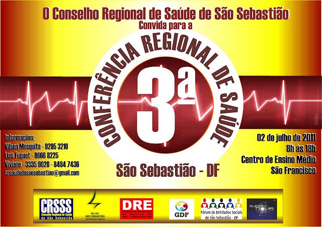 3ª Conferência de Saúde de São Sebastião
