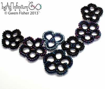 Beaded Lace Flowers
