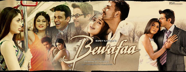 bewafaa 2005 movie songs