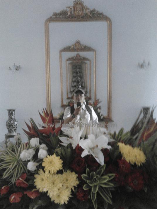 Narsis di dalam Istana Kepresidenan RI - Bogor