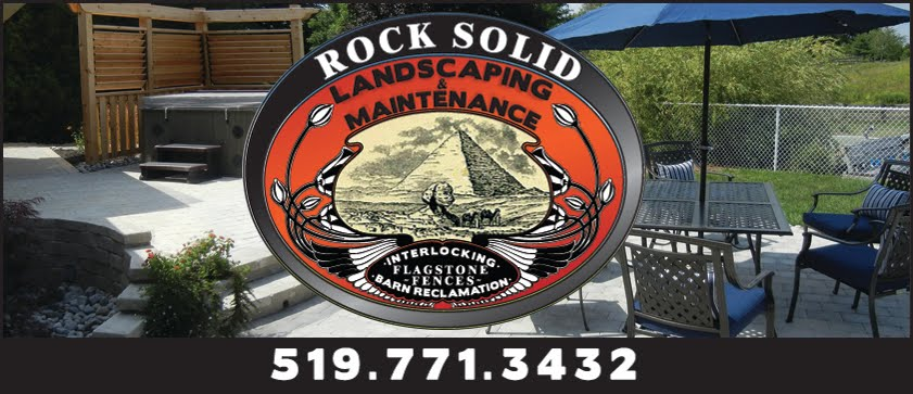 Rock Solid Landscape Design - 519.861.7910