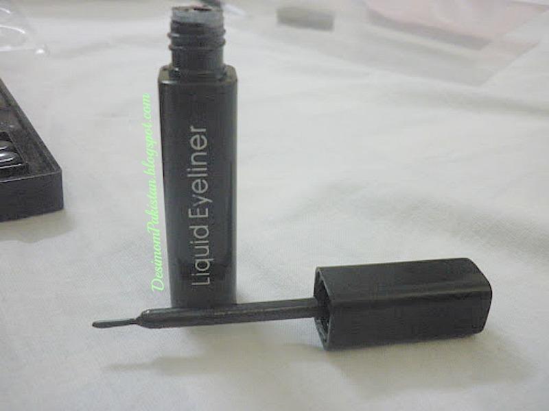 PROFUSION COSMETICS BEAUTY SATIN EYE SHADOW PALETTE DARK: eyeliner