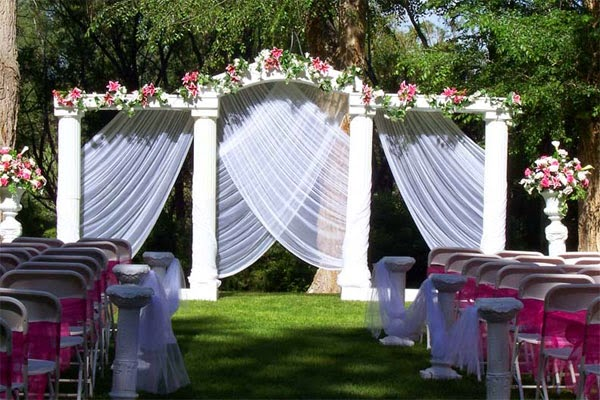Outdoor Wedding Decoration Ideas Background