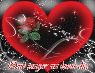 Querido, cuando te sientas sombrío y quizá privado de Amor, es una buena señal para que busques tener un buen día.